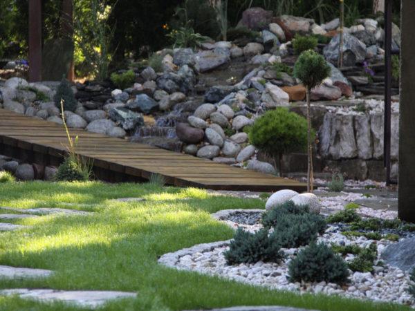 Ogród w Bielsku-Białej
